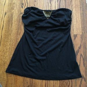 EUC Fang Glam Maternity strapless  top size large